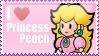 I Heart Peach Stamp 2 by MandiR