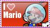 I Heart Mario Stamp by MandiR