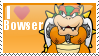 I Heart Bowser Stamp by MandiR