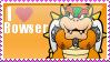 I Heart Bowser Stamp by MandiR