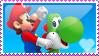 Mario - NSMBW Stamp by MandiR
