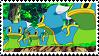 422: East Shellos Stamp by MandiR