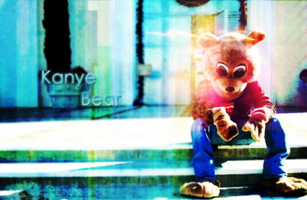 kanye west bear. Kanye West Bear by ~WeeDgS on