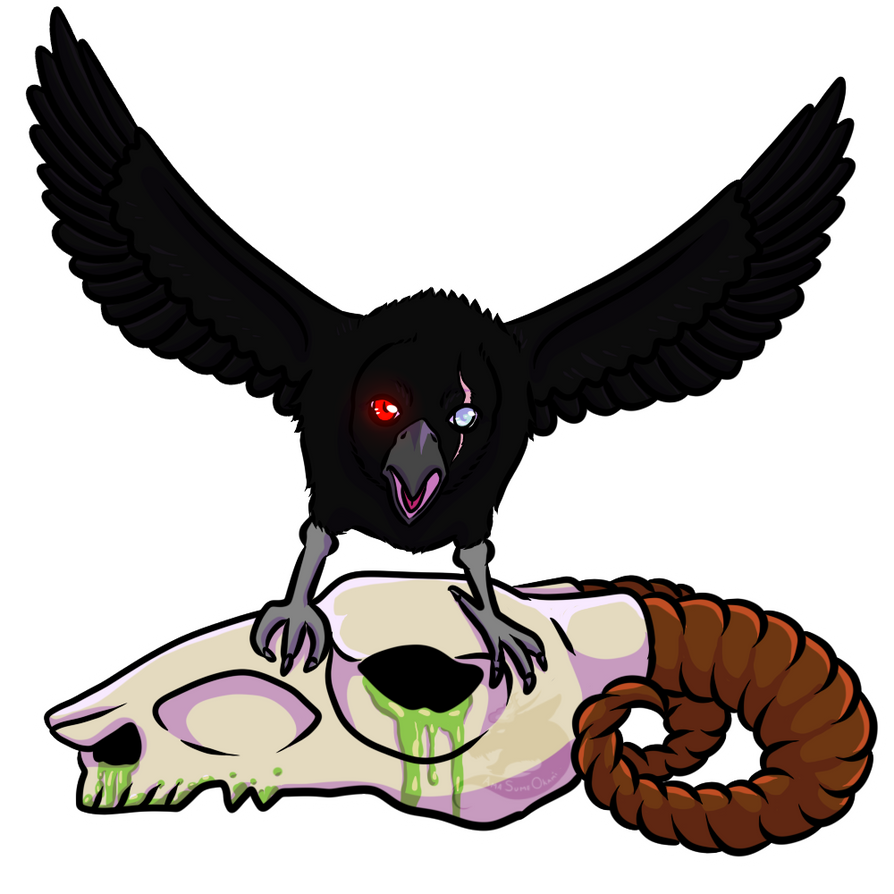 -Commission- Raven by AmaSumeOkami