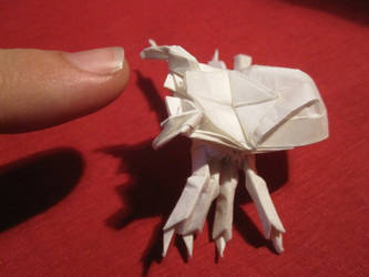 Origami Spider by Blastermind