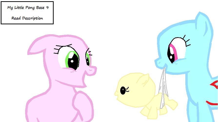 My Little Pony Base 9 By YukiTG