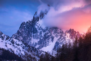 Alpenglow by TheChosenPesssimist