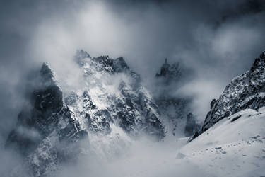 French Alps by TheChosenPesssimist