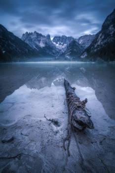 Dreamy mountainlake