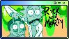 rick and morty stamp (F2U) by PineappleShiba