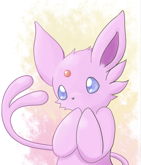 Little Espeon by asdfg21