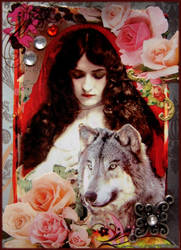 Red Rose Ridinghood by Bohemiart