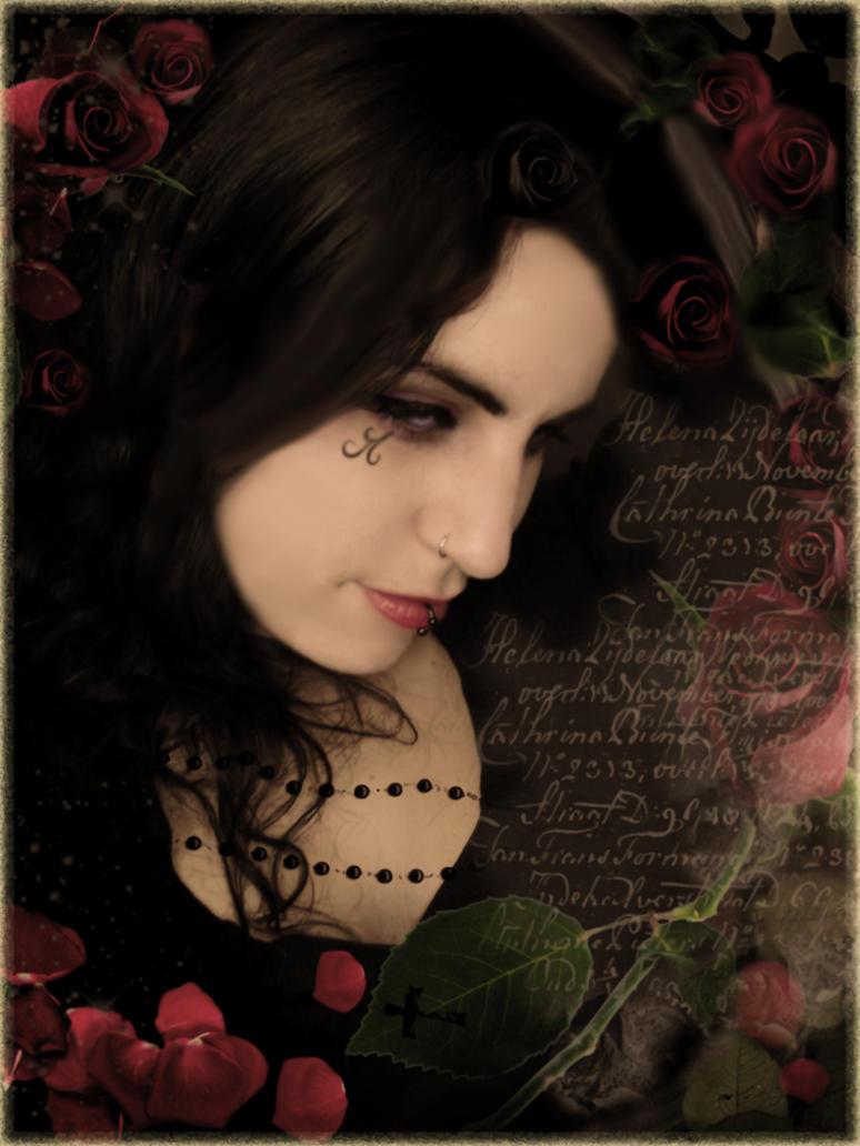 La Boheme Rose by Bohemiart