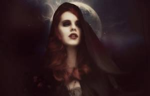 Belle lune immortel by Bohemiart