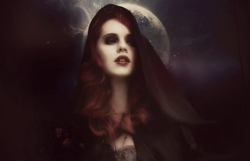 Belle lune immortel by Bohemiart