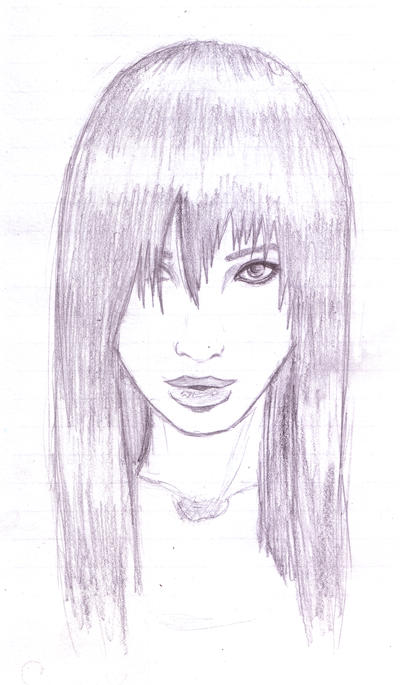 .:Garnier chick sketch:. by Simply-Ceres