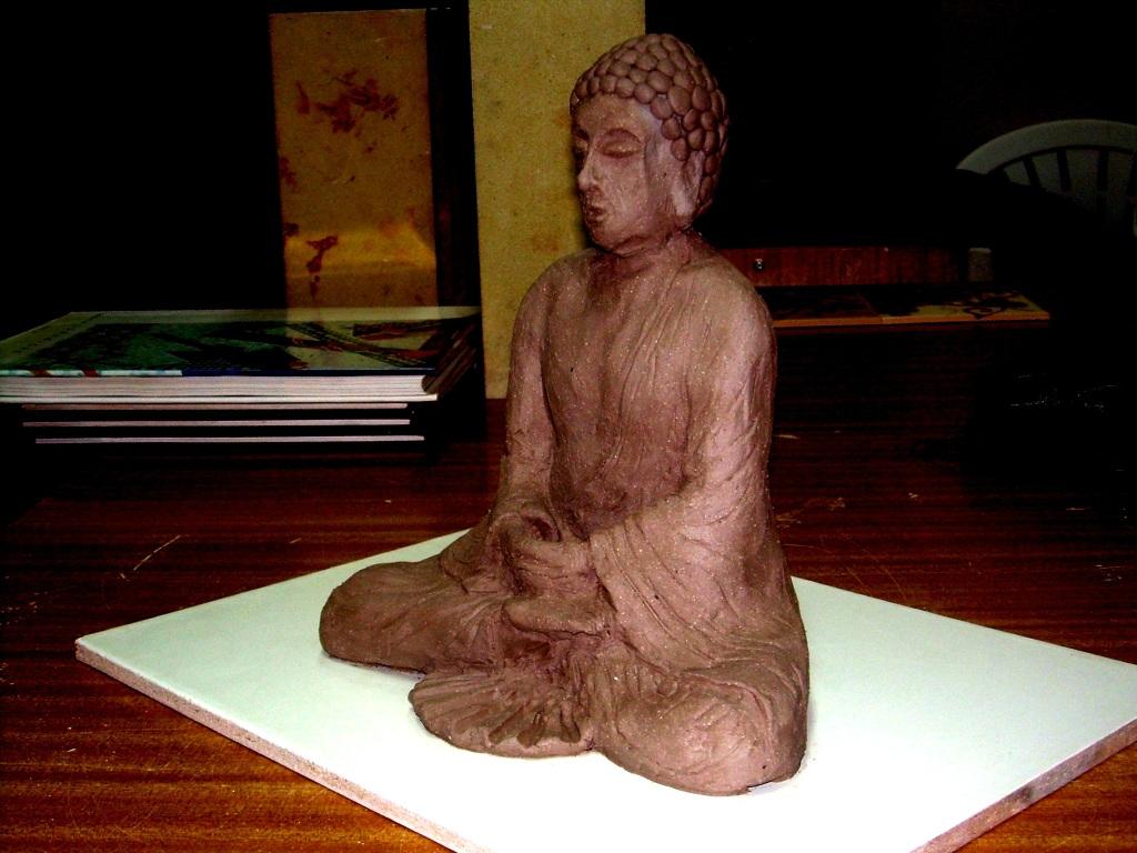 Incomplete Buddha by weedonio