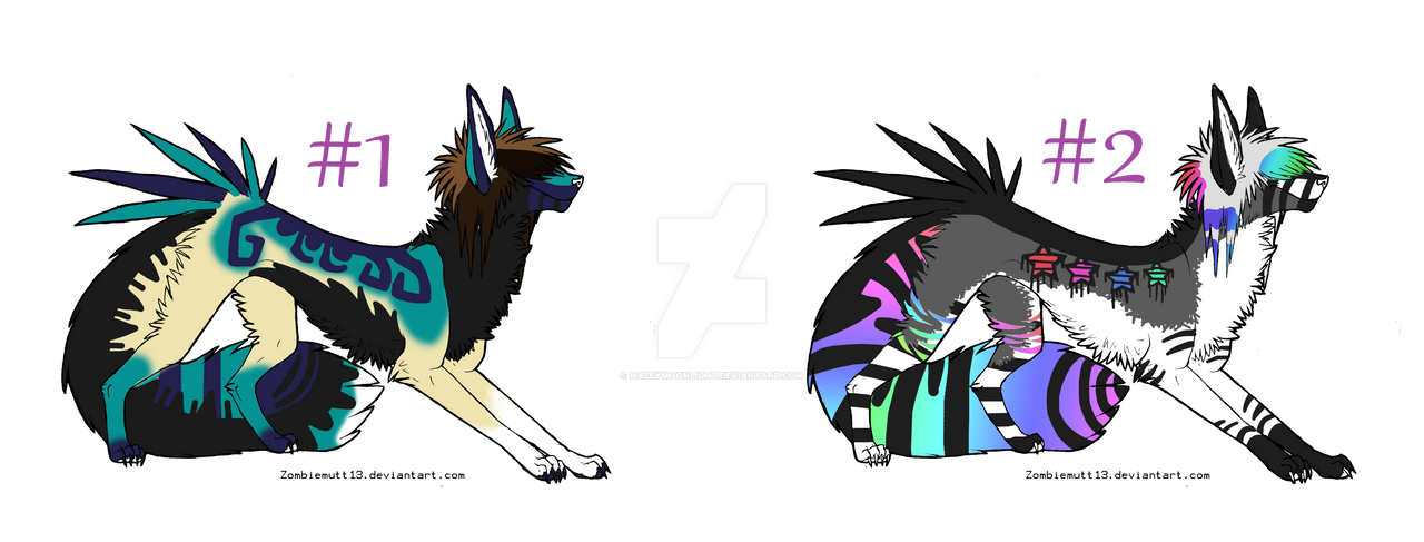 Sparkle dog auctions CLOSED by HazeAdopts