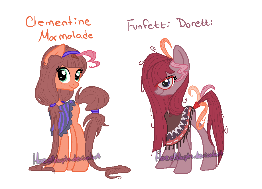My Pinkie/Cheese Fan kids by HazeAdopts