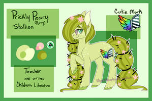 [Pony OC] Prickly Peary by HazeyMoonlight