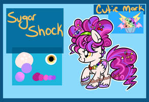 [Pony OC] Sugar Shock by HazeyMoonlight