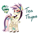 Tea Thyme ADOPT **CLOSED**
