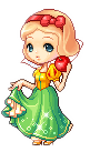 Doll #006 Snow White In Blonde. by Vilmantea
