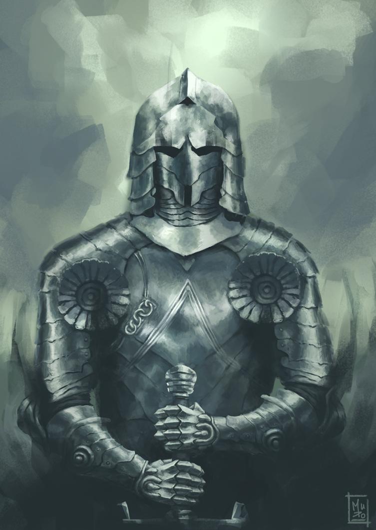 Knight Stance by Tensaiteki