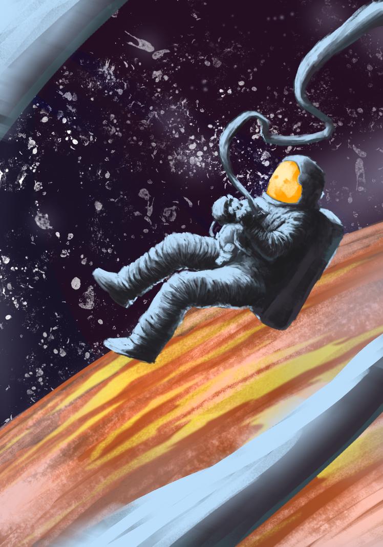 Lost Astronaut by Tensaiteki
