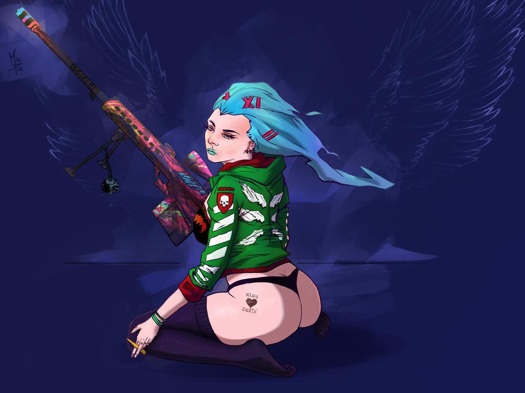 Snipergirl by Tensaiteki