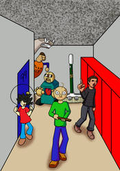 Baldi's Basics in Education and Learning Poster by elementhedgehog