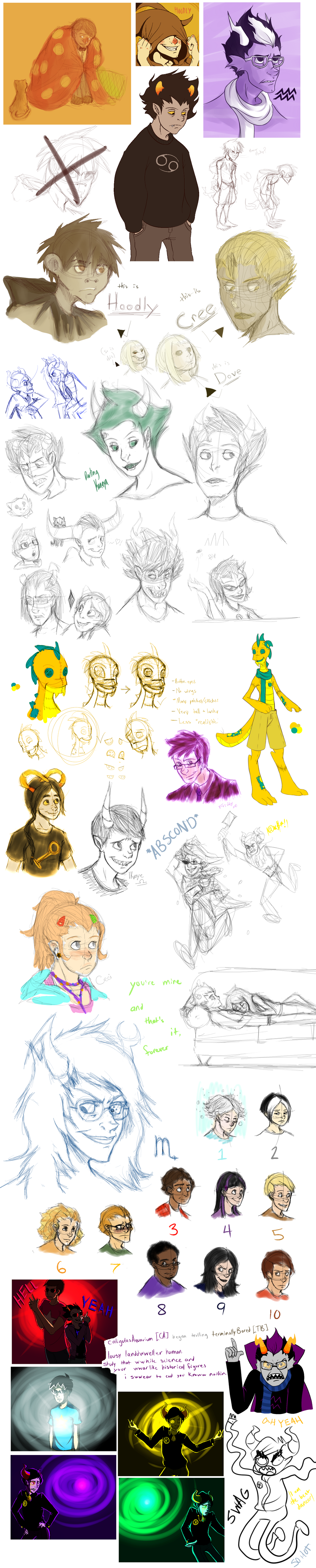 Sketchdump .05 by InkyFridays