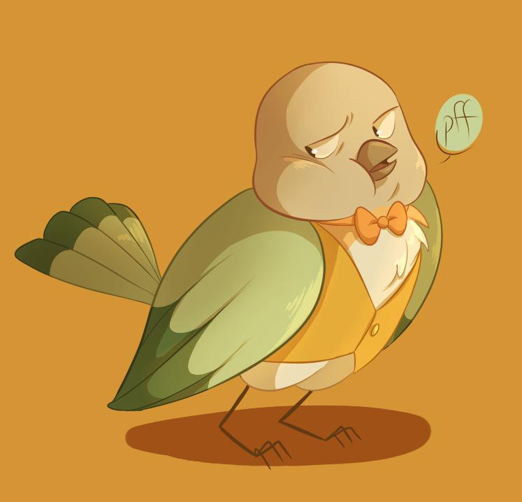 little bird vests by InkyFridays