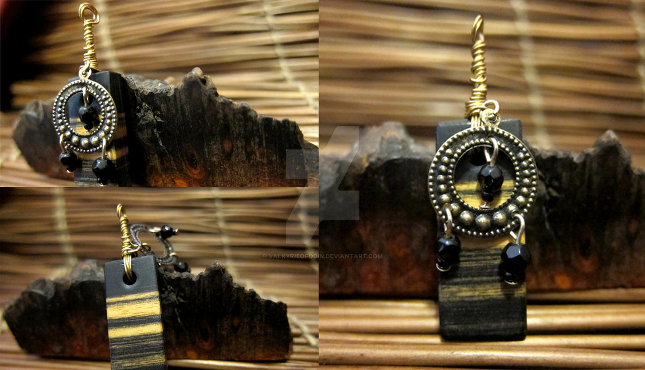 BW Ebony Gypsy Pendant by ValkyrieOfODIN