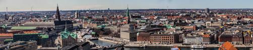 Copenhagen Skyline by Ring-A-Ding