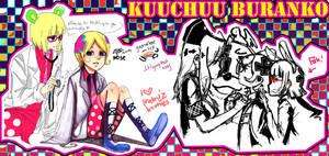 :PCHAT:Collab: Kuuchuu Buranko by ayexist