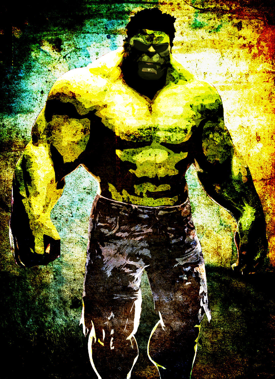 Hulk by Izzie-Hill