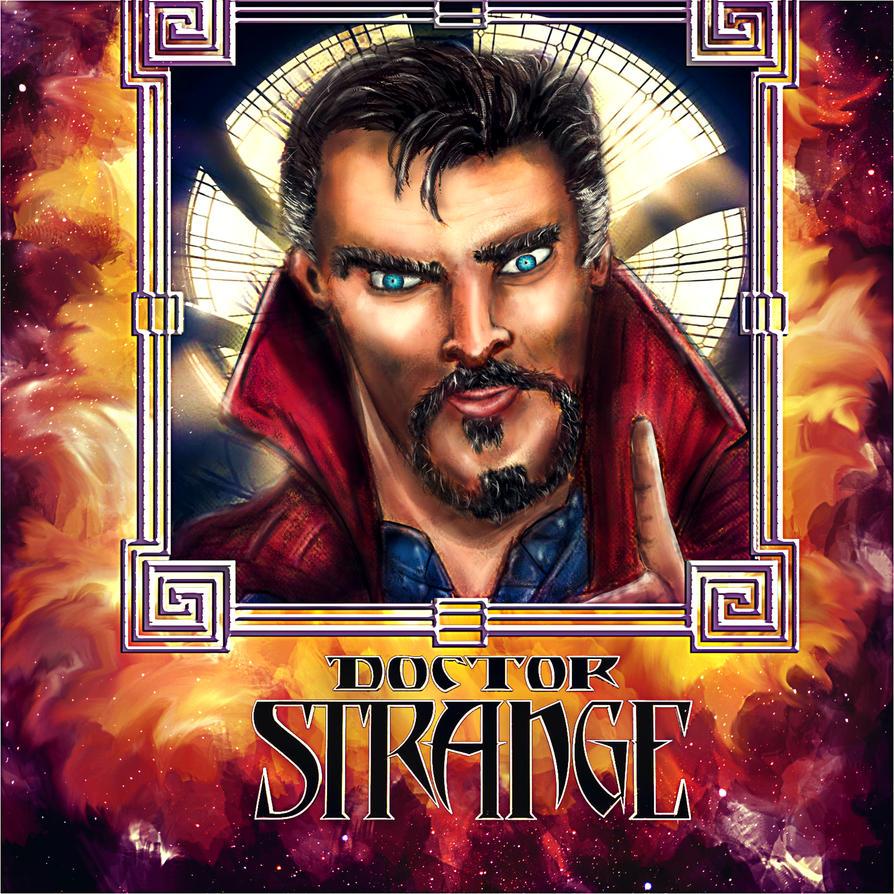 Doctor Strange Illustration by Izzie-Hill