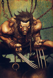 Leinil yu Wolverine color 4fun by SpicerColor