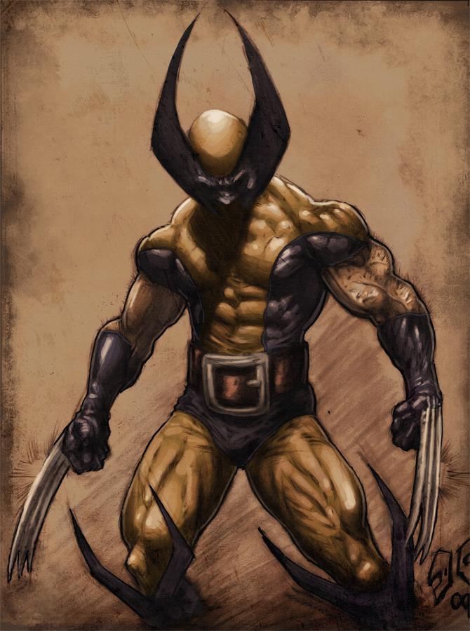 Cruz Wolverine colored4Fun by SpicerColor
