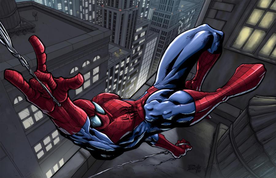 Spider-Man F. Peniche by SpicerColor