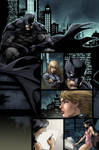 batman Ed Benes color practice