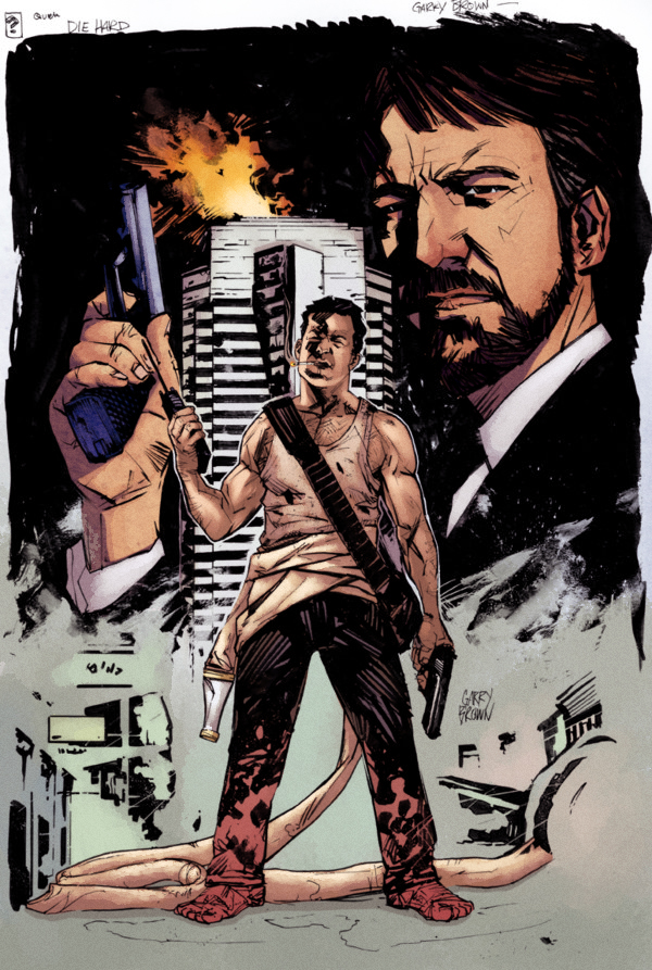 Die Hard Garry Brown by SpicerColor