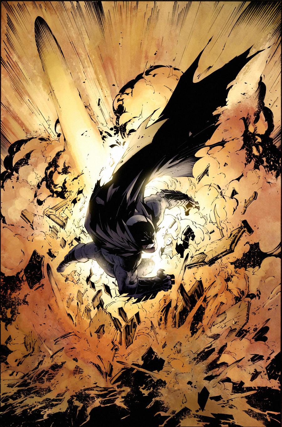 Batman Capullo by SpicerColor