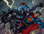 Batman Superman Richard Friend