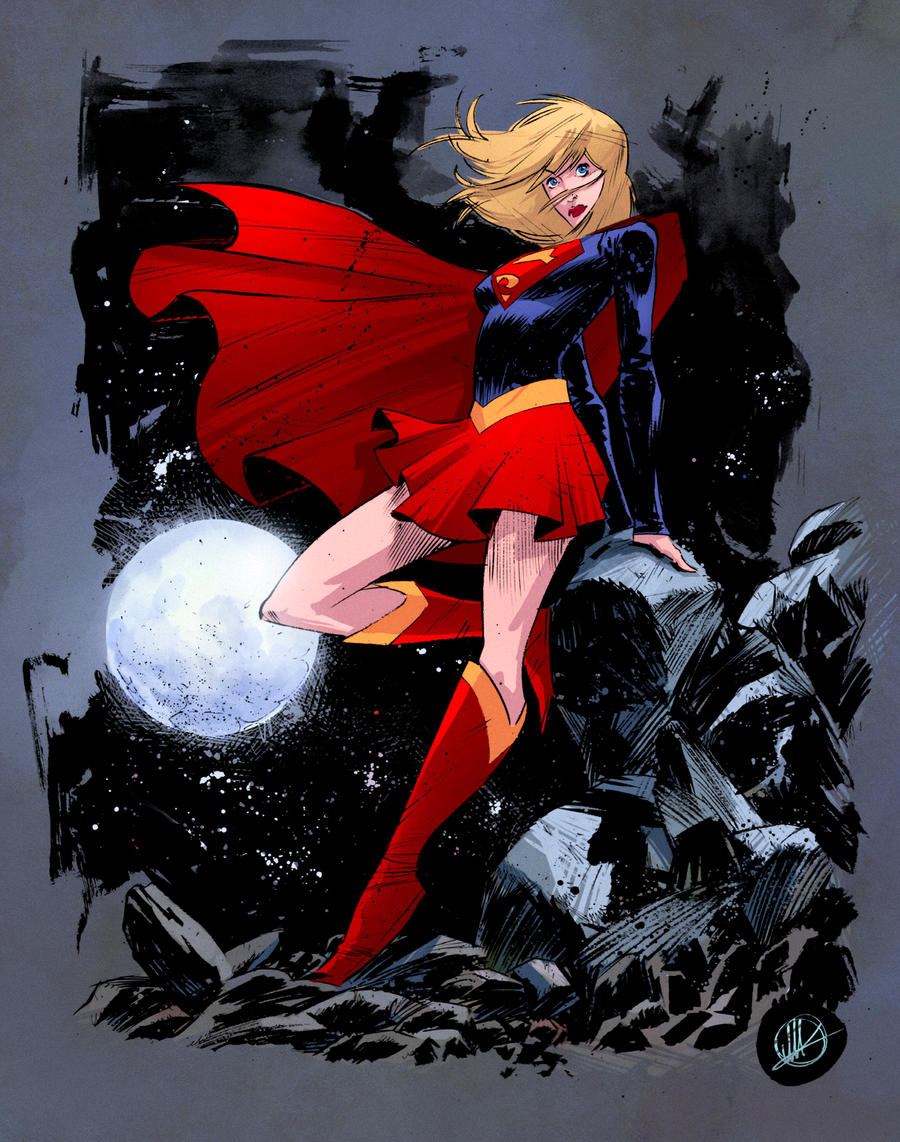 Supergirl Matteo Scalera by SpicerColor