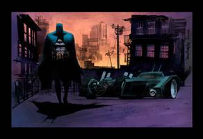 Batman Sean Murphy by SpicerColor