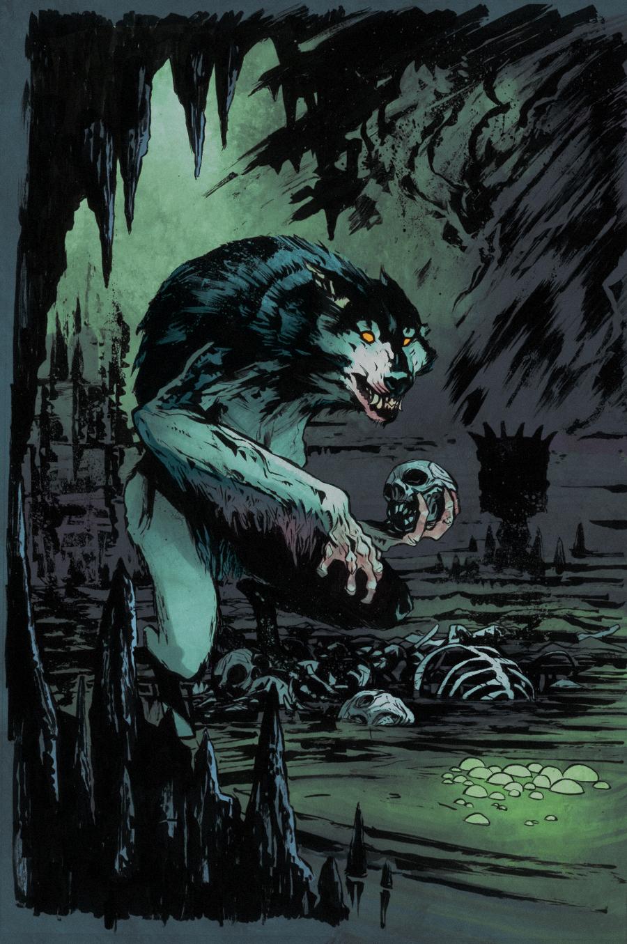 Querio werewolf by SpicerColor