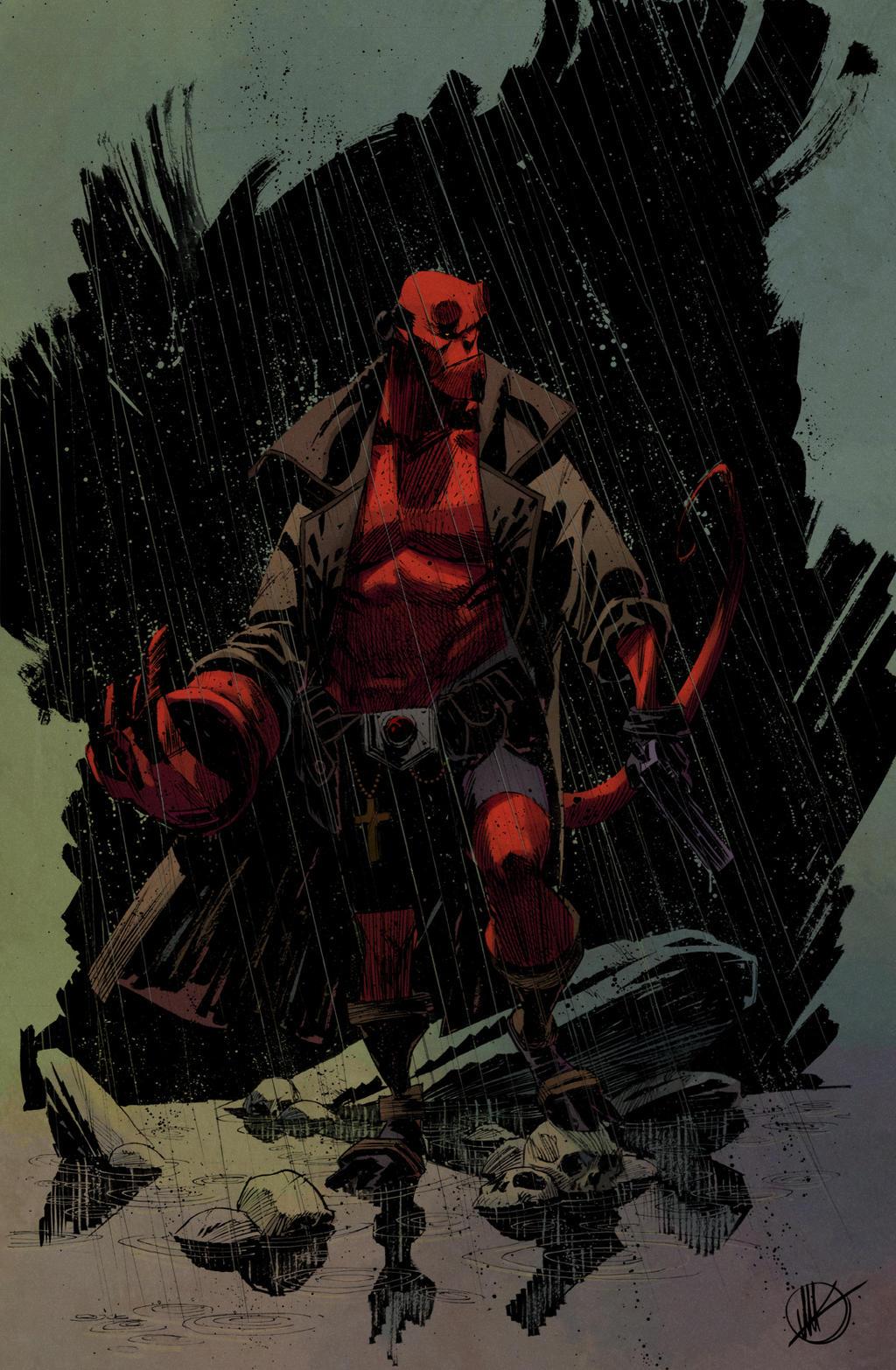 Hellboy Matteoscalera by SpicerColor