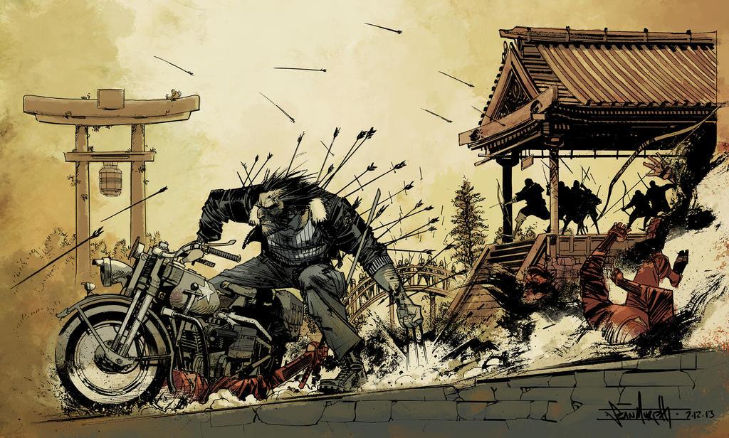 Logan Commission By Seangordonmurphy-d6d6t4x by SpicerColor